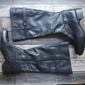 30f099f7a5d Easy Spirit Shoes - EASY SPIRIT Labarca leather calf boots